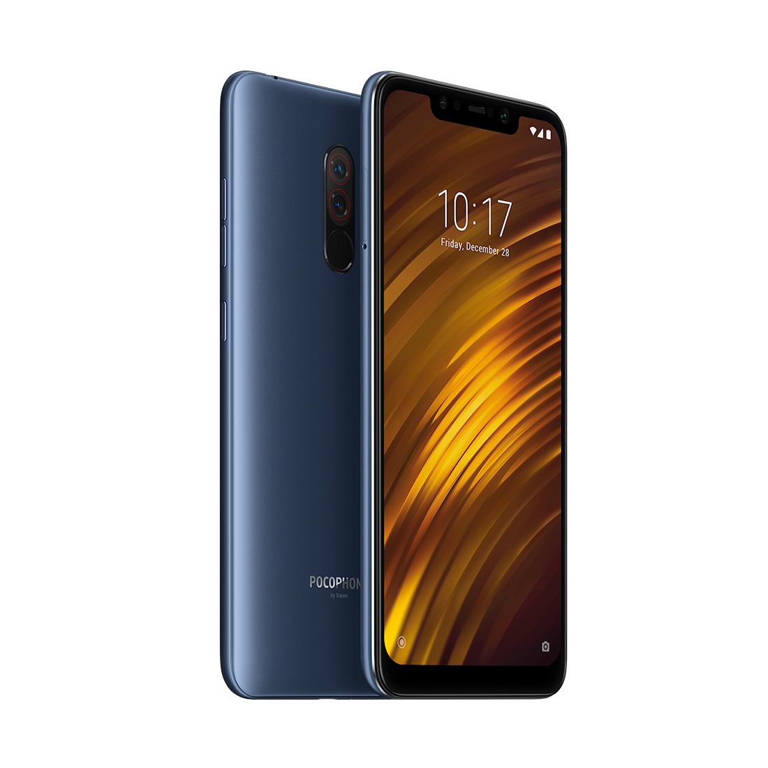 Мобильный телефон Pocophone by Xiaomi F1 (M1805E10A) 128GB Синий