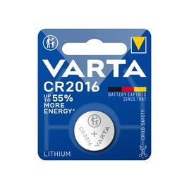 Батарейка VARTA Lithium CR2016 3V 1 шт. в блистере