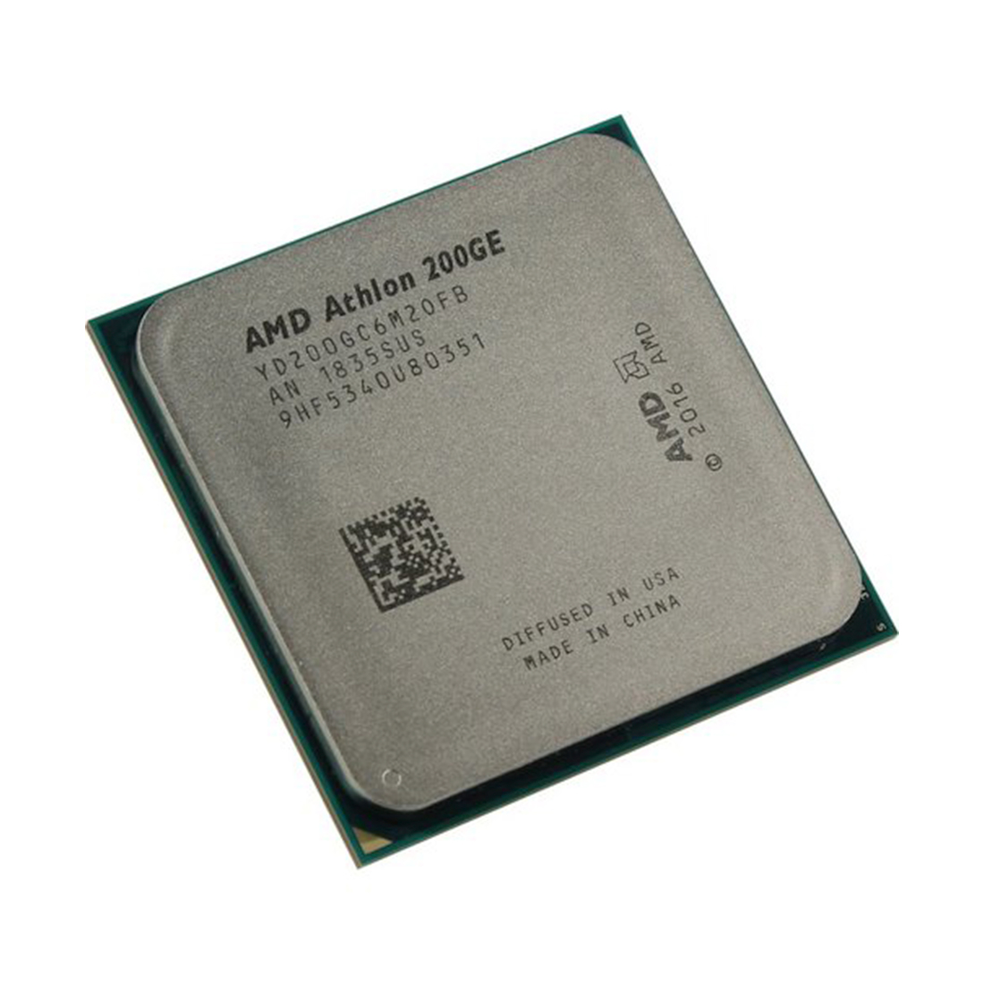 Процессор AMD AM4 Athlon 200GE