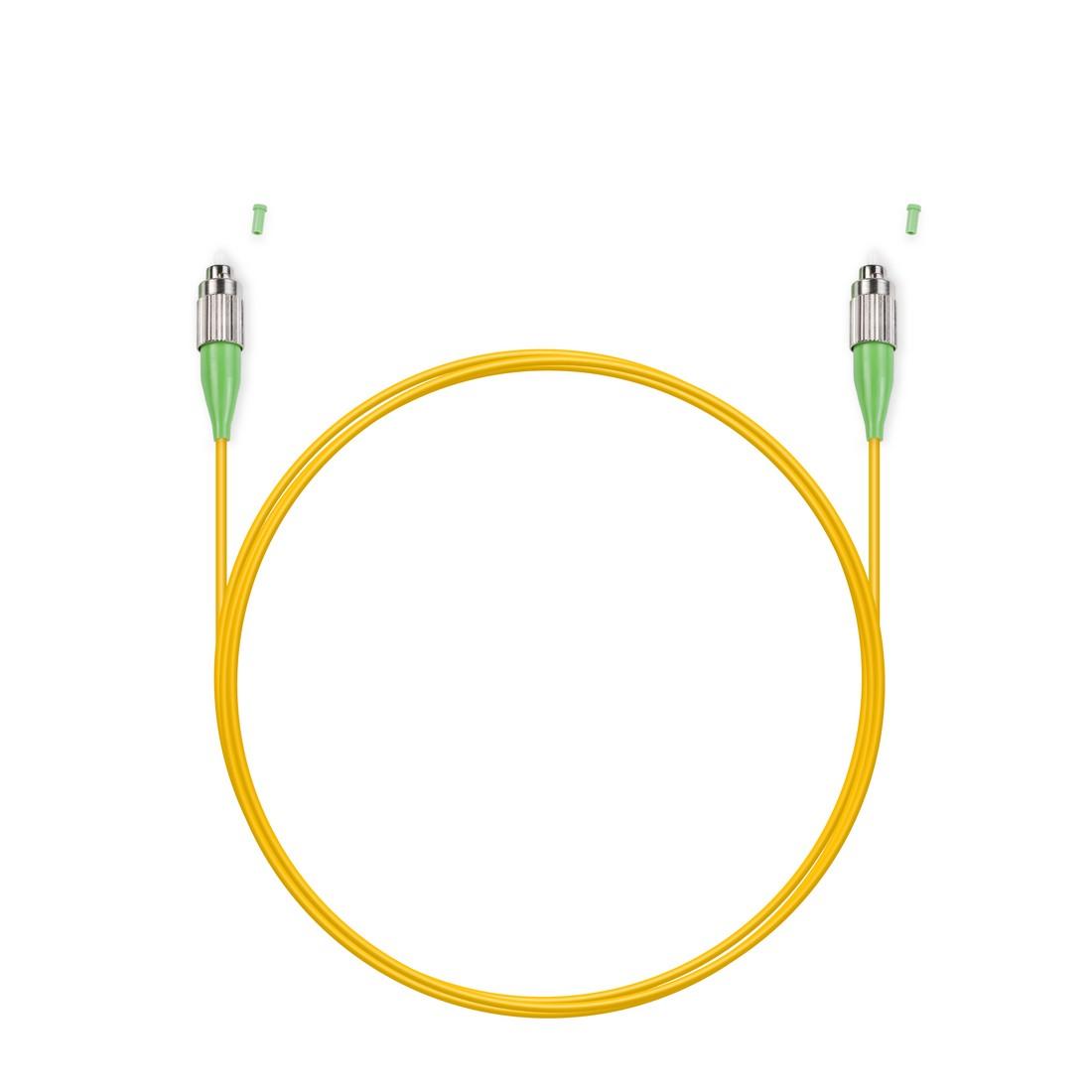 Патч Корд Оптоволоконный FC / APC-FC / APC SM 9 / 125 Simplex 3.0мм 2 м