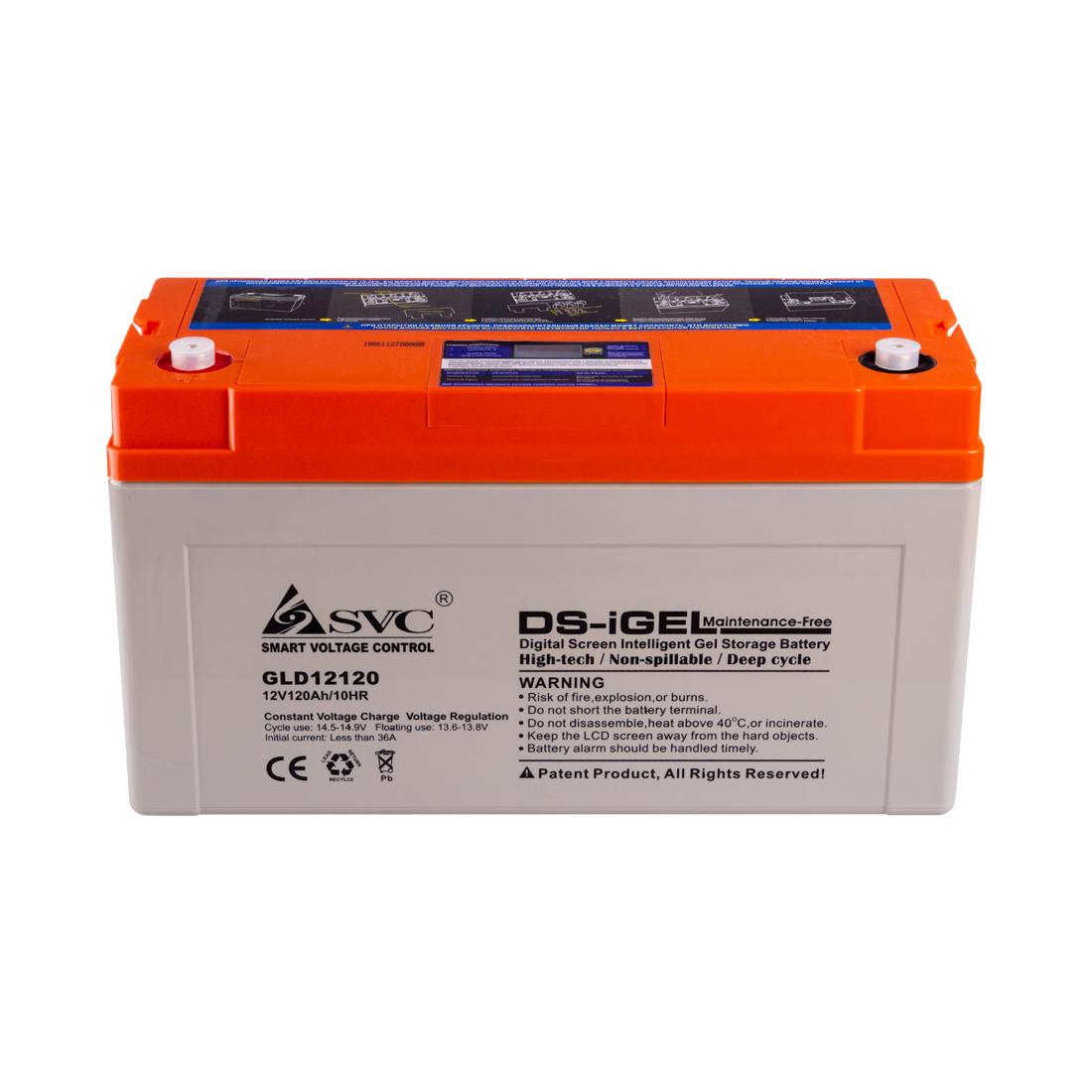 Аккумуляторная батарея SVC GLD12120 12В 120 Ач