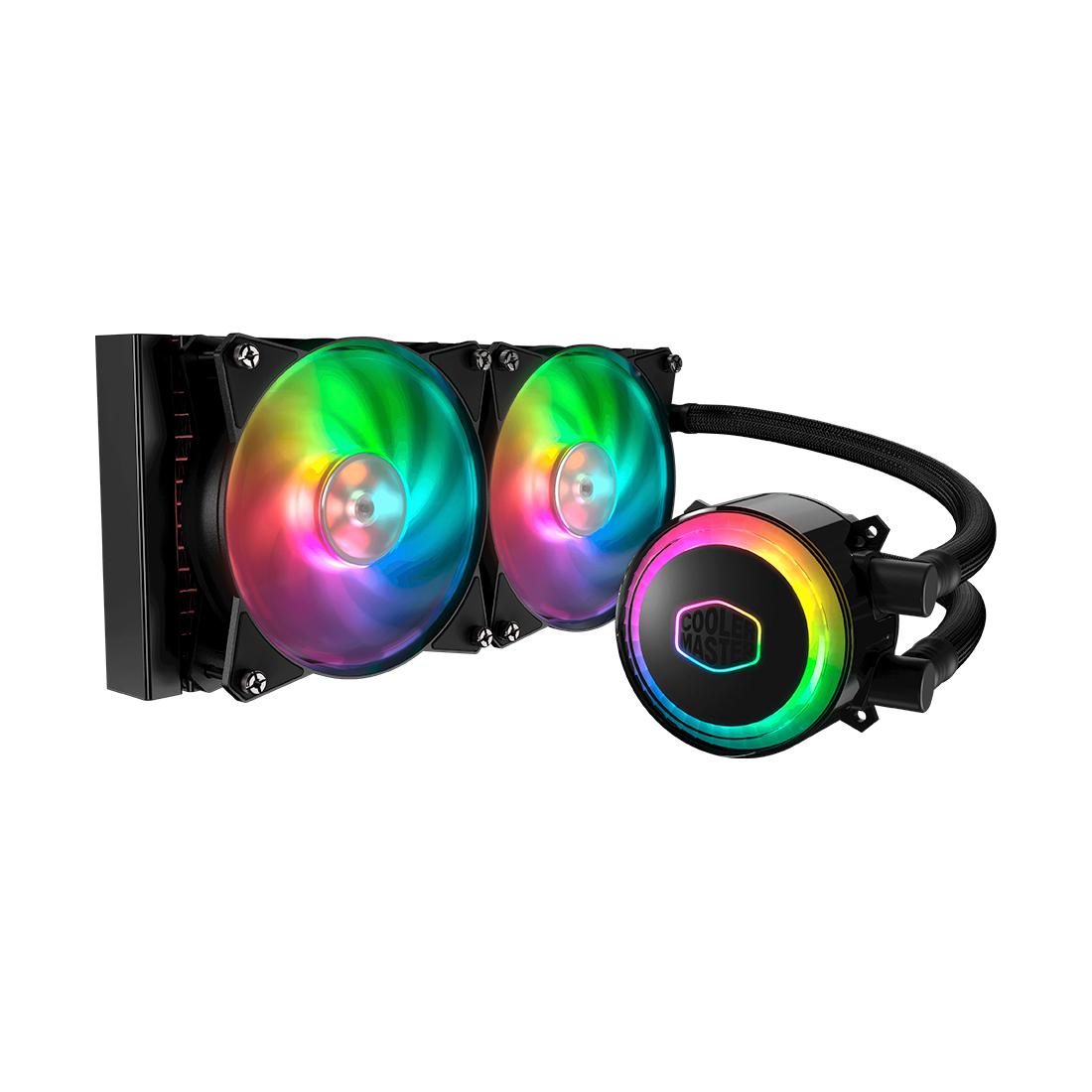 Кулер с водяным охлаждением Cooler Master MasterLiquid ML240R RGB