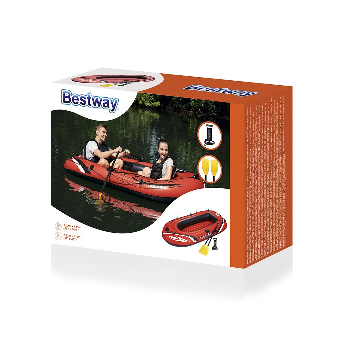 Лодка надувная Bestway 61102 (модель 2020г.)