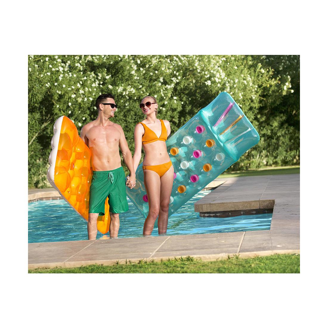 Надувной пляжный матрас Bestway 43014
