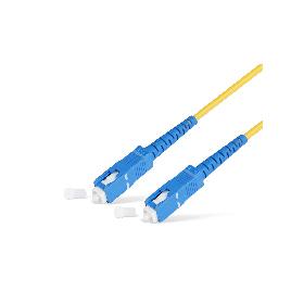 Патч Корд Оптоволоконный SC/UPC-SC/UPC SM 9/125 Simplex 3.0мм 0.5 м