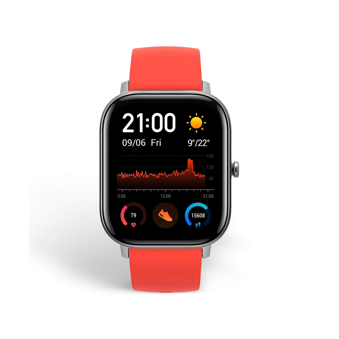 Смарт часы Amazfit GTS A1914 Vermillion Orange