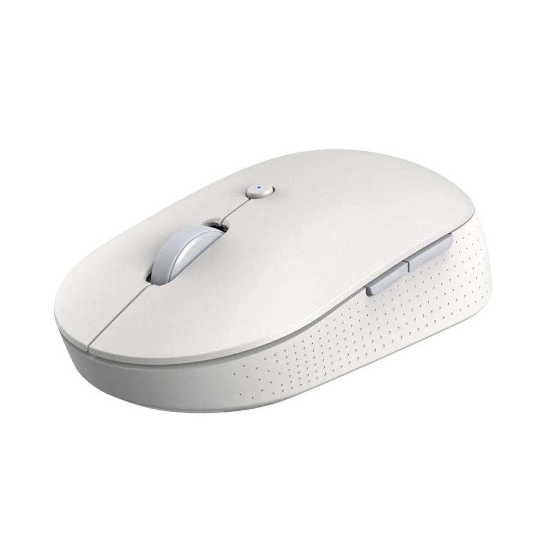 Беспроводная компьютерная мышь Xiaomi Mi Dual Mode Wireless Mouse Silent Edition Белый