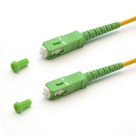 Патч Корд Оптоволоконный SC/APC-SC/APC SM 9/125 Simplex 3.0мм 0.5 м
