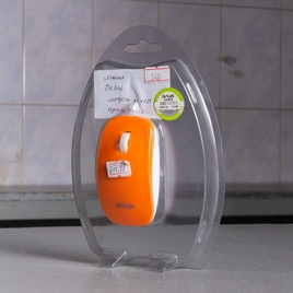 Мышь Delux USB оранжевый