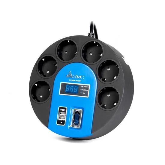 Сетевой фильтр SVC UFO G-4006-3BB