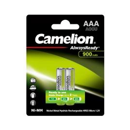 Аккумулятор CAMELION AlwaysReady Rechargeable Ni-MH NH-AAA900ARBP2