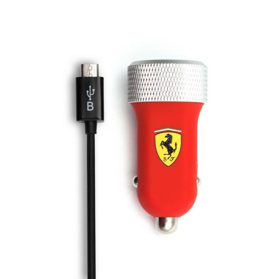Универсальное USB зарядное устройство Ferrari FERUCC2UMIRE