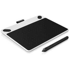 Графический планшет Wacom Intuos Draw Pen Small White (CTL-490DW-N) Белый/чёрный