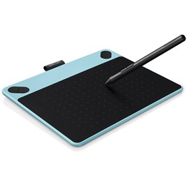 Графический планшет Wacom Intuos Comic Small Blue (CTH-490CB-N) Голубой/чёрный