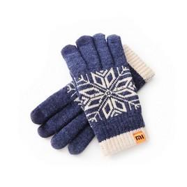 Зимние перчатки Xiaomi Синий