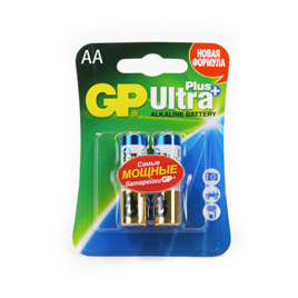 Батарейки GP 15AUP-CR2 Ultra Plus блистер 2шт.