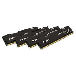 Комплект модулей памяти Kingston HX424C15FBK4/16 DDR4 (4gb x4) DIMM <PC4-19200/2400MHz>