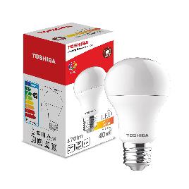 Светодиодная лампа Toshiba A60 5,5W (40W) 2700K 470lm E27 ND Тёплый