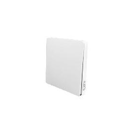 Умный выключатель Xiaomi Mi Smart Home (две кнопки) Zigbee Встраиваемый в стену  Белый