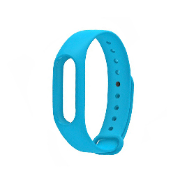 Сменный браслет для Xiaomi Mi Band 2 Голубой