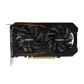 Видеокарта Gigabyte (GV-N105TOC-4GD) GTX1050Ti OC 4G
